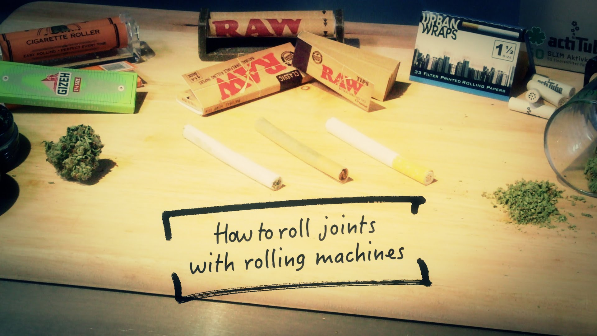How to Roll Joints with a Rolling Machine: Marijuana Tips & Tricks Cannabasics #4
