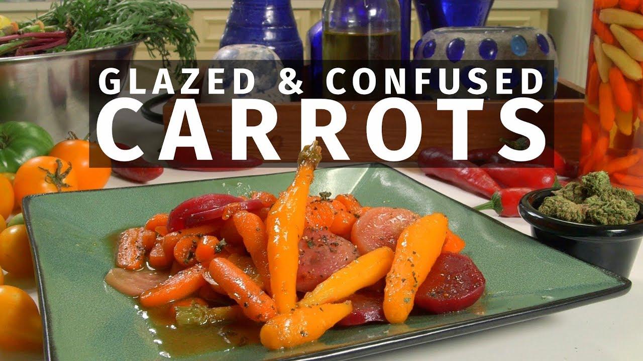 Cannabis Infused Honey Glazed Carrots/ Beets Recipe