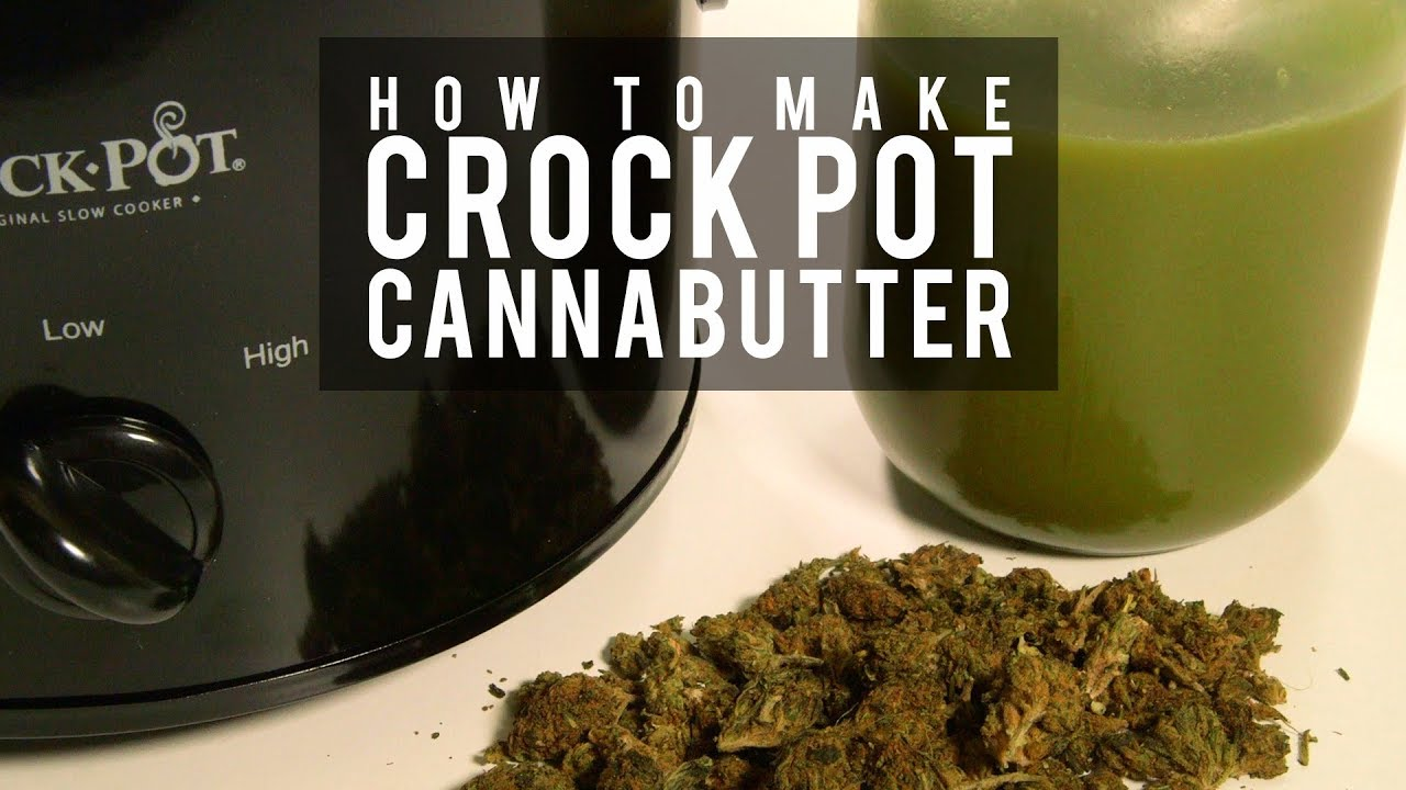 How To Make Cannabutter in A Slow Cooker